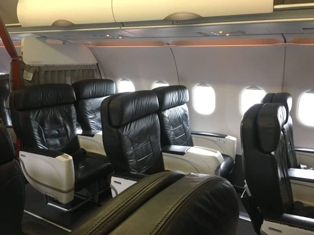Miles & More Meilen am besten einlösen: Avianca A319 Business Class