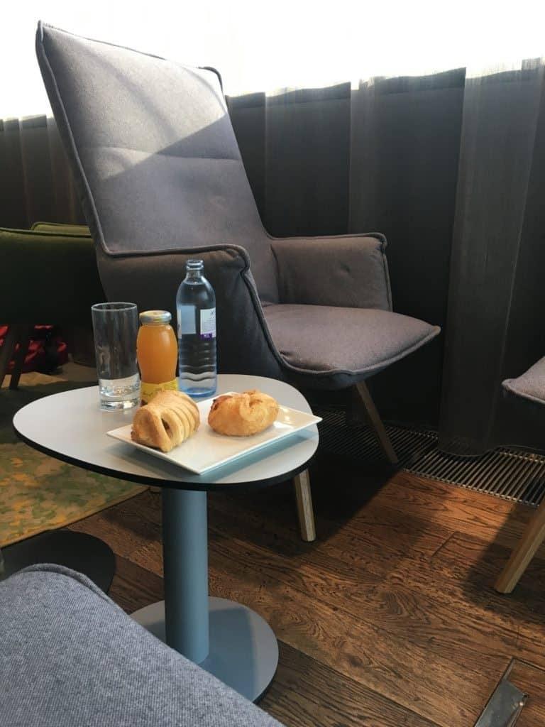 Flughafen Lounge: Austrian Senator Lounge Wien
