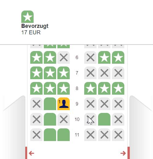der beste Sitzplatz im Flugzeug: Sitzplatz auf einem Lufthansa Flug vor Öffnen des Online Check in