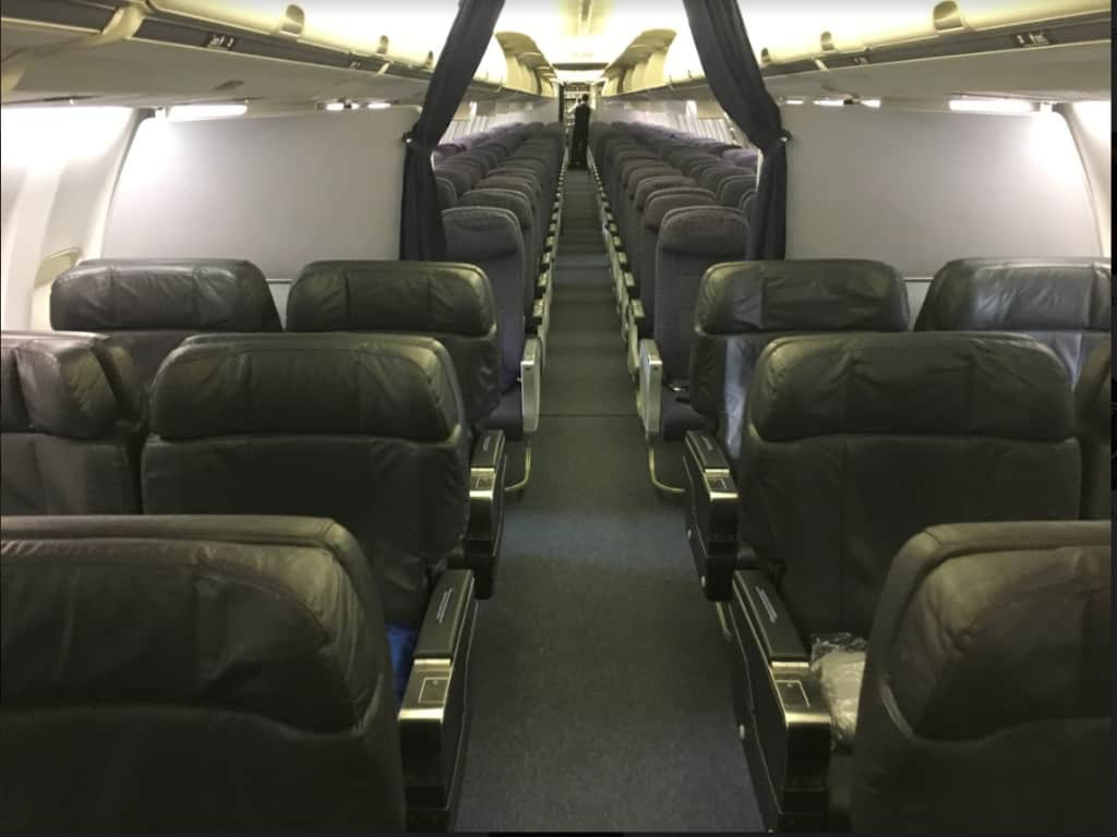 für wenige Meilen Business Class fliegen: Copa Airlines 737