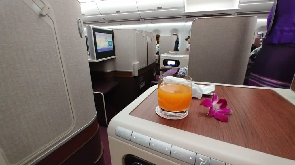 Meilenberatung: Thai Business Class