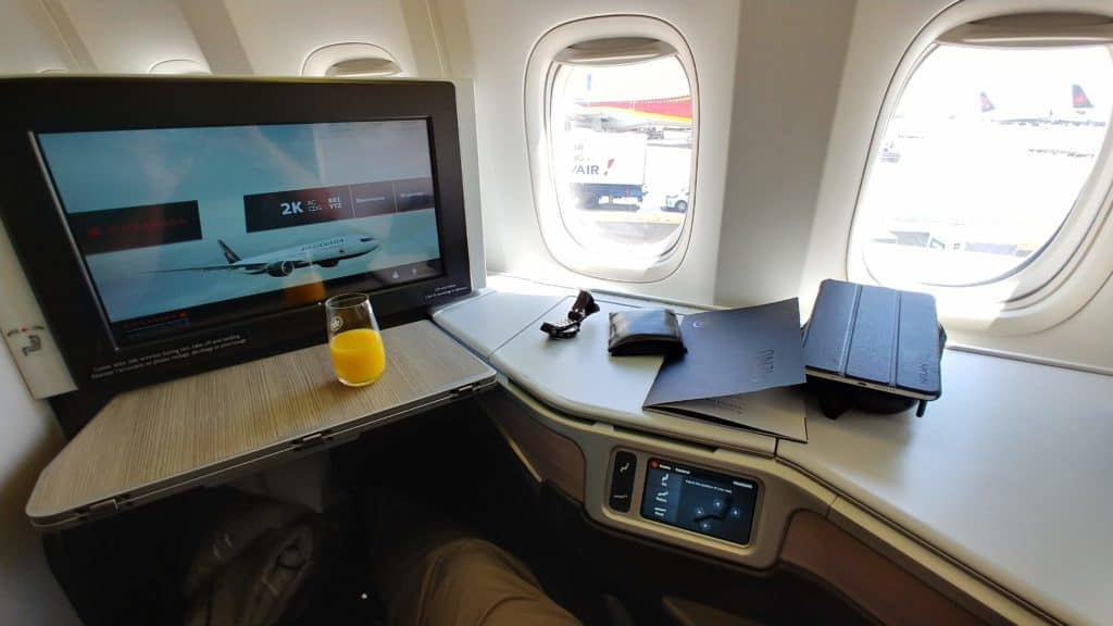 Meilen einlösen: Air Canada Business Class