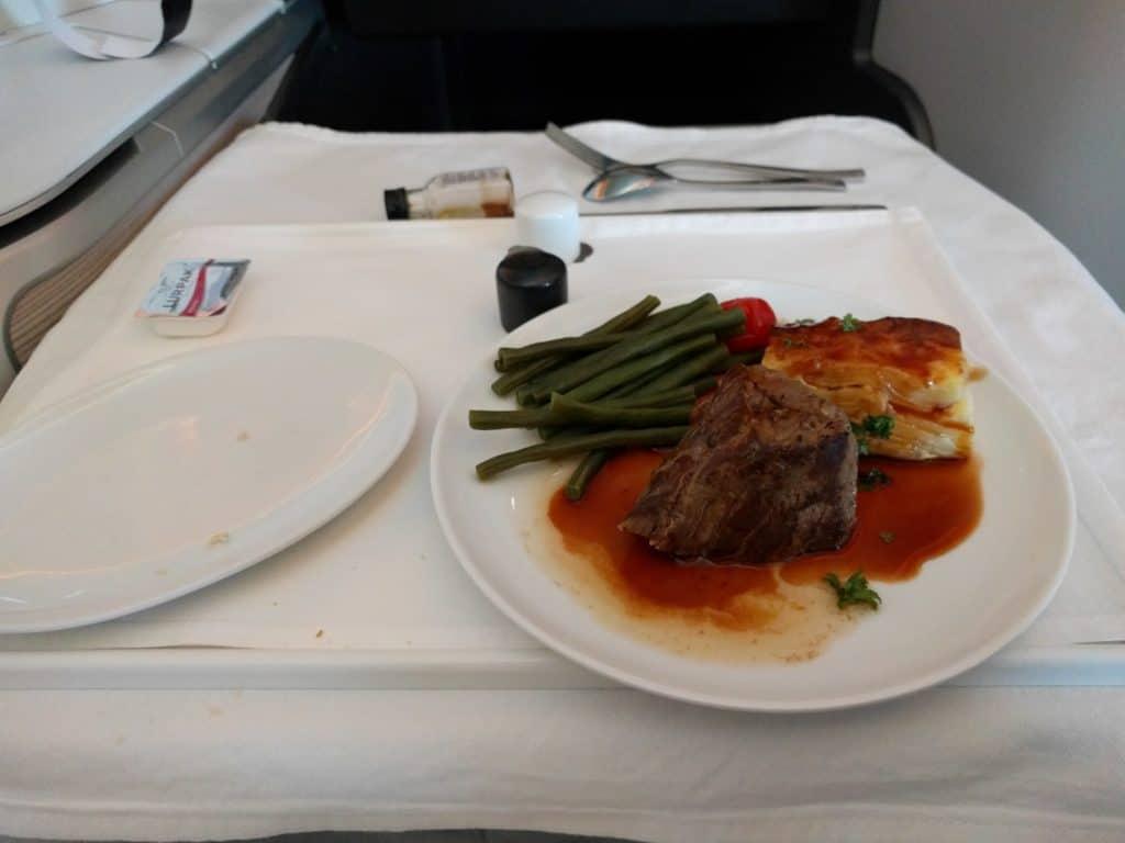 Executive Club Avios einlösen: British Airways Club World Appetizer