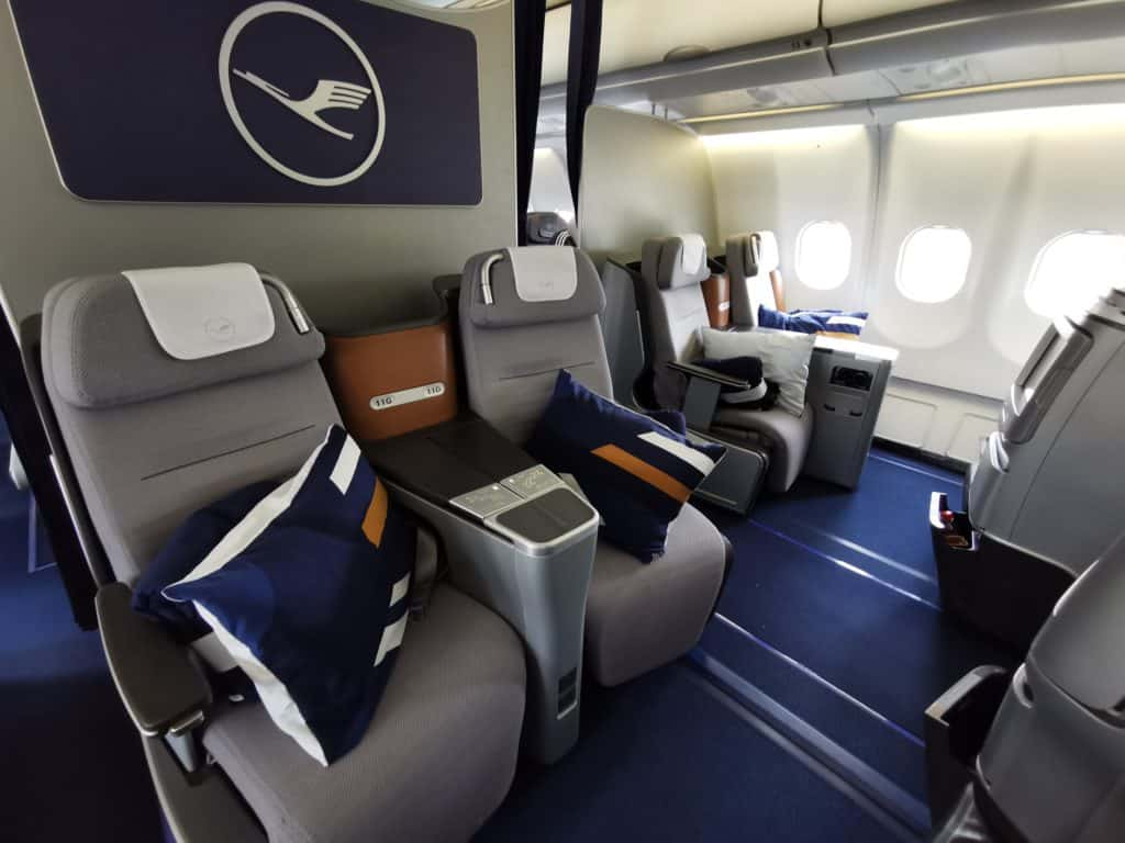 Mit 40.000 Meilen in die Lufthansa Business Class
