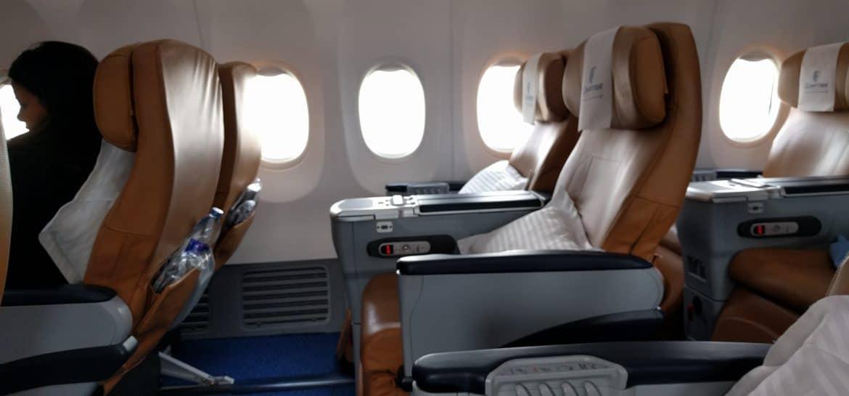 Meilen für Prämienflüge; Egypt Air Business Class