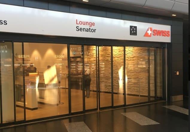 Meilen langfristig zu horten: Swiss Lounge Zurich
